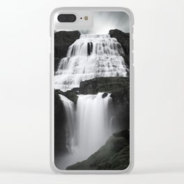 Dynjandi - Thunder of the Westfjords Clear iPhone Case