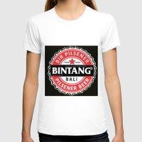 bali T-shirts featuring BINTANG PILSENER BALI by darma1982