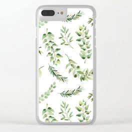 Forest in the Fall Clear iPhone Case