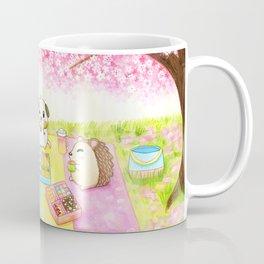 Cherry Blossom Bento Picnic Coffee Mug