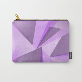 Meditation - Purple Abstract Carry-All Pouch