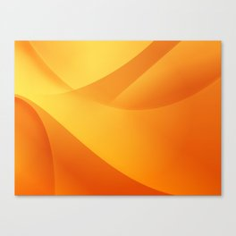 Orange Wallpaper Canvas Print