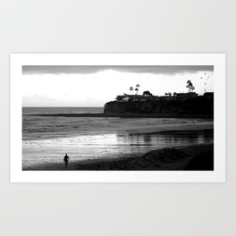 Tourmaline Surf Park Art Print
