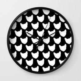 BX Feral Cat Care - Jackson's Face Wall Clock
