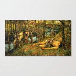 John William Waterhouse - The Naiad Canvas Print