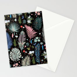 Magic Garden / Floral Pattern Stationery Cards