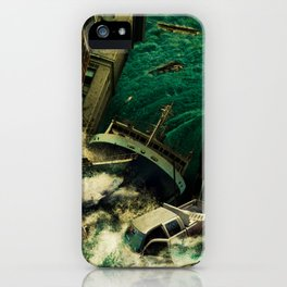 No God's Gonna Save You Now iPhone Case