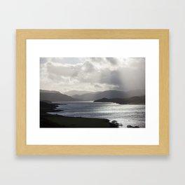 Loch Hope Framed Art Print