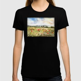 Poppies at the Lake Balaton T-shirt
