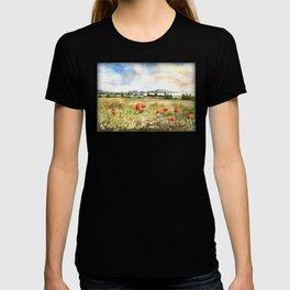 Poppies at the Lake Balaton T-shirt
