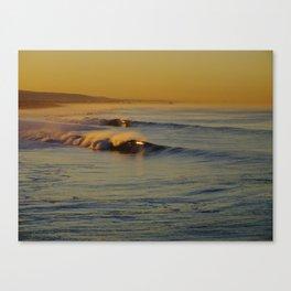Golden Waves Huntington Beach, California Canvas Print