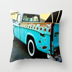 Rusty Dodge Throw Pillow
