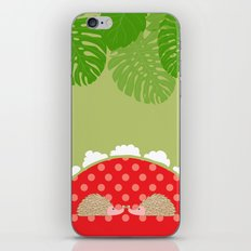 hedge-hug iPhone & iPod Skin