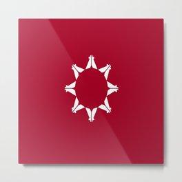 flag of Lakota Metal Print