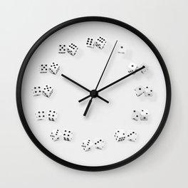 Dice Clock Wall Clock