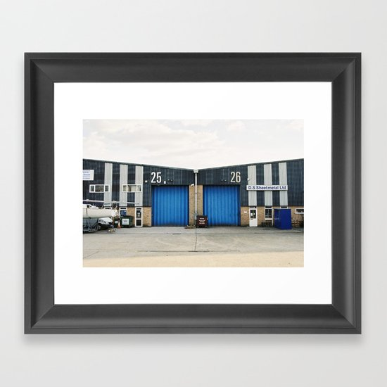 Industrial Framed Art Print