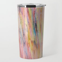 Color gradient and texture 42 Travel Mug