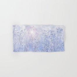 Winter Sparkle On A Sunny Frosty Day #decor #buyart #society6 Hand & Bath Towel