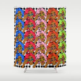 CocoPop Shower Curtain