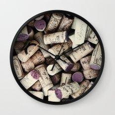Corks Wall Clock
