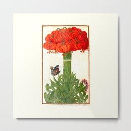 1608 France Bouquet Of Orange Lilies Metal Print