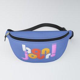 bonjour! french design Fanny Pack
