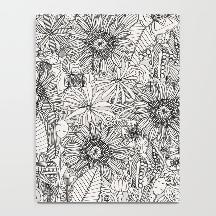 pencil flowers Notebook