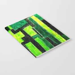 Three Green Puzzle Notebook