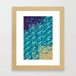 Tri Hard Framed Art Print