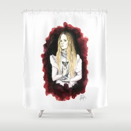 Love Makes Monster of Us All Shower Curtain