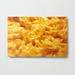 Loctaine in Yellow Metal Print
