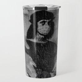 Renaissance Face Street Art Travel Mug