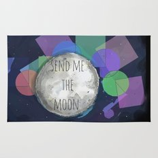 send me the moon Rug