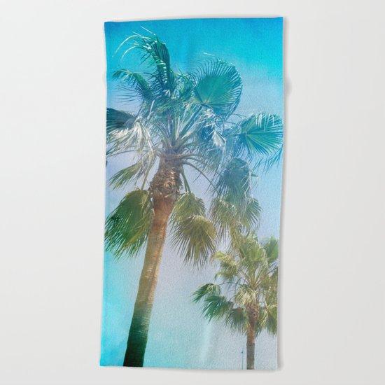"""Palms. Beach"" Beach Towel"