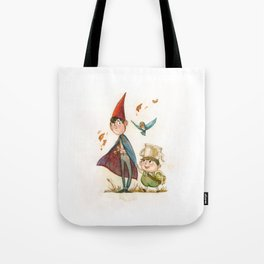 One is a Bird, Two are the Trees Tote Bag