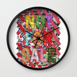 NOT FOR SALE 05 Wall Clock