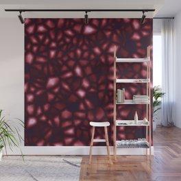 Pomegranate Seeds Fractal Wall Mural