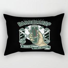 Barber Shop Hairdresser Gifts Barber Machine Rectangular Pillow