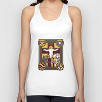 evangelion Tank Tops featuring Illuminated Evangelion by C. A. Neal