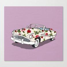 Blossom car Canvas Print