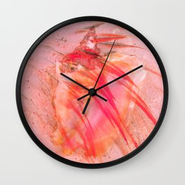 Junkanoo Pink Conch Wall Clock