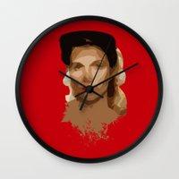 jewish Wall Clocks featuring Jewish Vengeance by Ashley