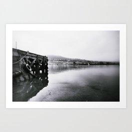 re-dock Art Print