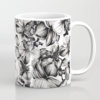 orchid Mugs featuring orchid by GYYO