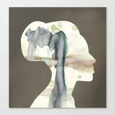 Bone Canvas Print