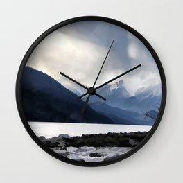 Majestic Mountains Wall Clock