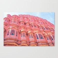 Pink Dream of JAIPUR Canvas Print