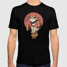 Shinobi Cat T-shirt