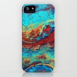 Abstract flow Macro iPhone Case