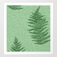 fern Art Prints featuring Fern by Mr and Mrs Quirynen